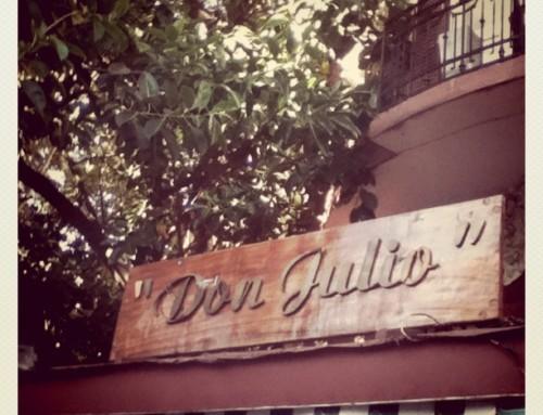 Don Julio, um clássico